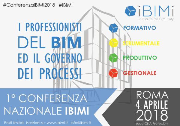 1° Conferenza Nazionale IBIMI il 4 aprile a Roma