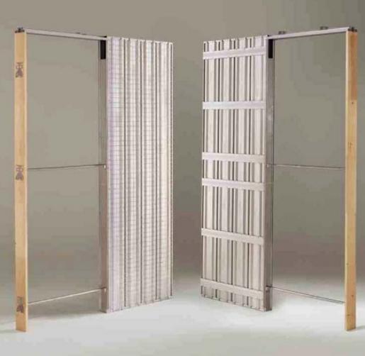 Porte scorrevoli a scomparsa o esterno parete - Porta parete cartongesso ...