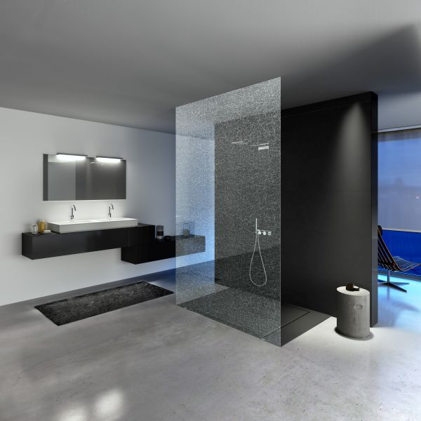 Vetro per doccia SGG Timeless di Saint Gobain