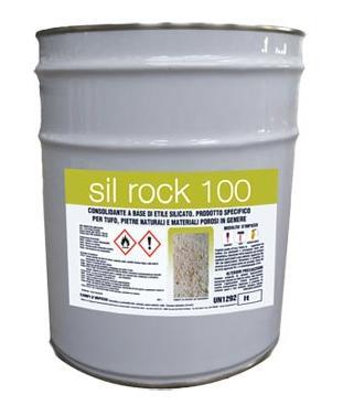 Il consolidante  SIL ROCK 100