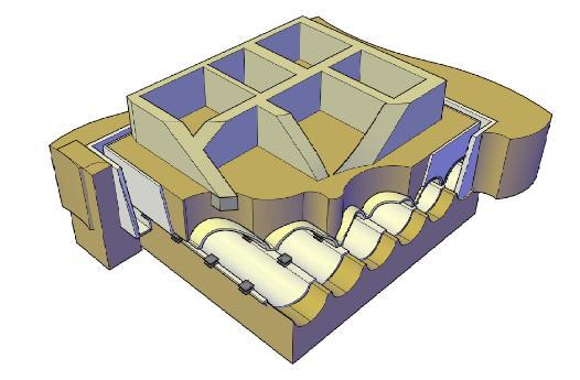 Figura 8. Sistema di isolamento sismico per edifici esistenti