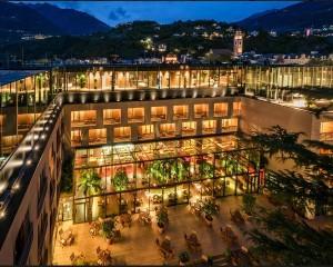 Sky SPA dell'Hotel Terme Merano