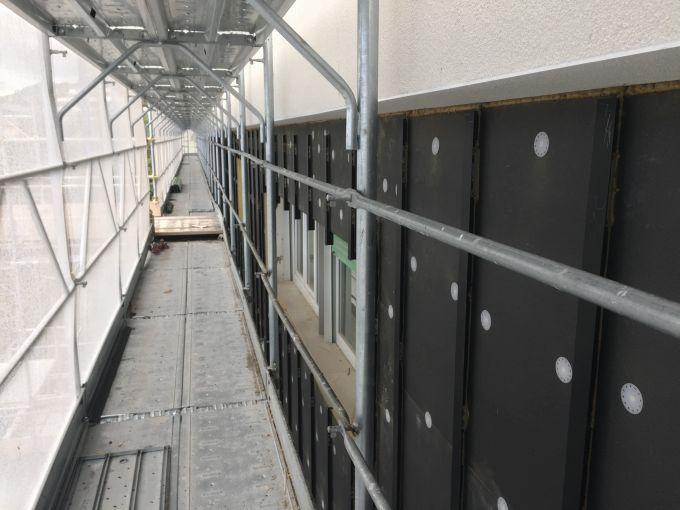 Pannello STIFERITE FIRE B per l'isolamento di facciate ventilate