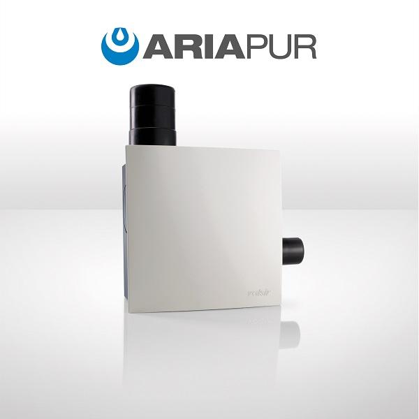 ARIAPUR, sistema per il ricambio d\'aria nei bagni ciechi