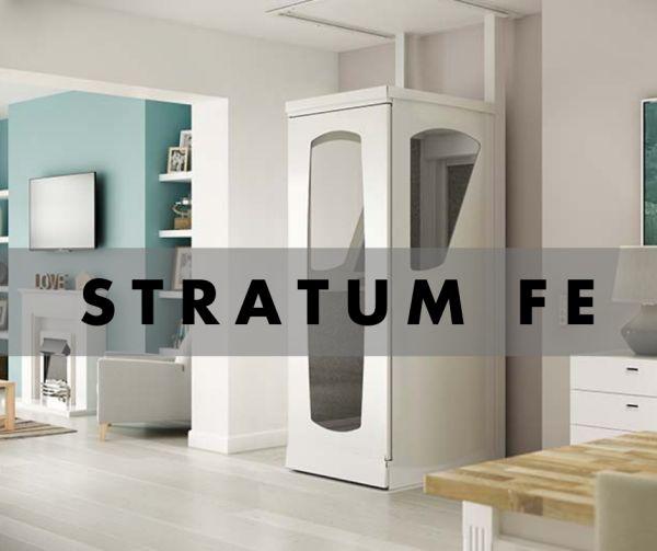 Stratum Fe, il miniasacensore domestico di Stannah che non ingombra