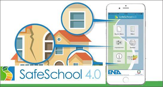 APP SafeSchool 4.0 per misurare i consumi e la vulnerabilità energetico-strutturale delle scuole