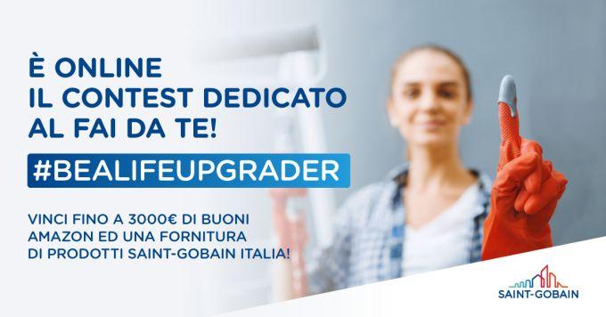 concorso di Saint-Gobain Italia #bealifeupgrader per gli appassionati del fai da te