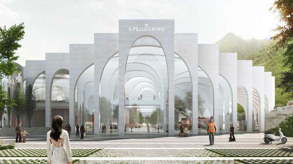 Posata la prima pietra della Fabbrica del Futuro di Sanpellegrino