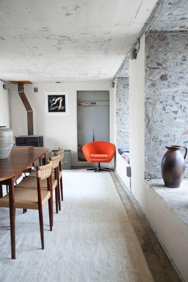 Progetto Savannen12 a Gotland. I raffinati arredi interni