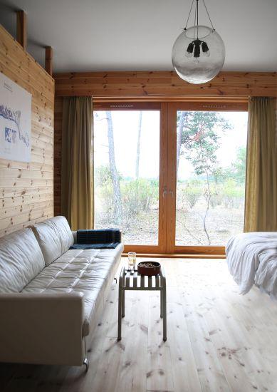 Progetto Savannen12 a Gotland. La camera da letto