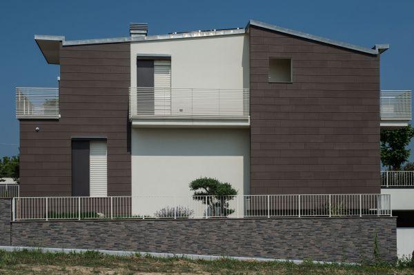 Una delle abitazioni di nuova costruzione a Savignano sul Rubicone