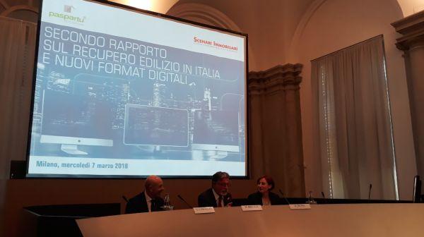 Rapporto sul recupero edilizio in Italia e nuovi format digitali