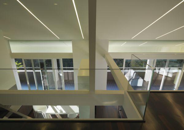 Appartamento residenziale affacciato sui giardini della Reggia di Caserta disposto su due livelli