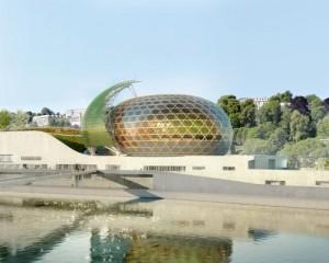 La Seine Musicale di Shigeru Ban: un'isola dedicata alla musica