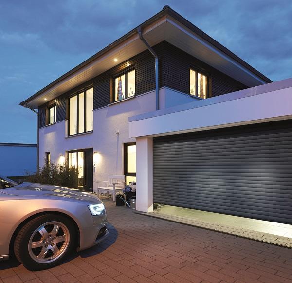 applicazione serranda salvaspazio in garage con architrave ridotto