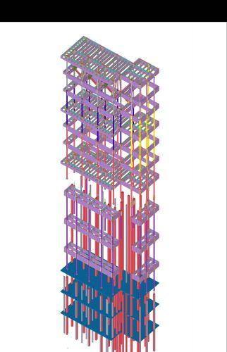 Sistema NPS di Tecnostrutture per  la realizzazione di 3 nuovi piani di un albergo a New Delhi