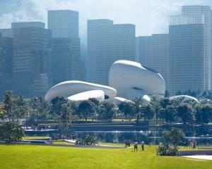 Shenzhen bay culture park: un progetto sospeso tra tradizione e futuro