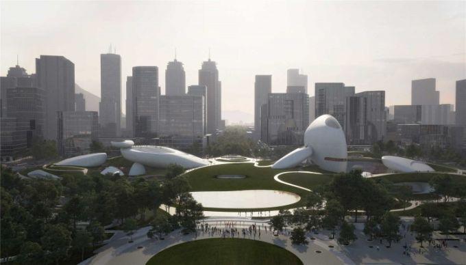 Shenzhen bay culture park: un progetto sospeso tra antico e futuro