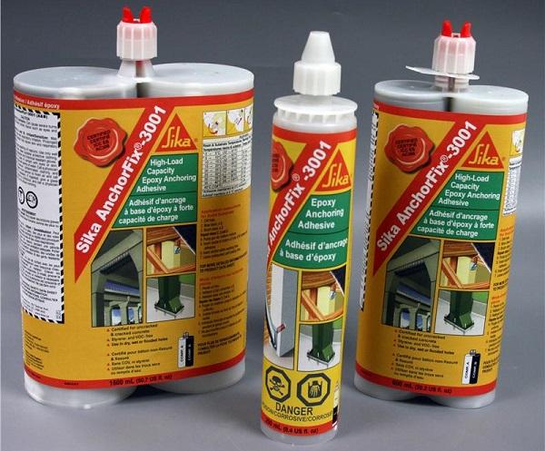 Sika AnchorFix 3001  per il fissaggio chimico di tasselli