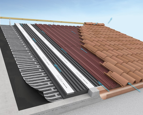 Onduline roofing system for Onduline plastica