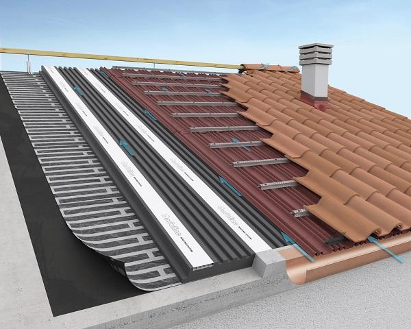 Sistema tetto tegole