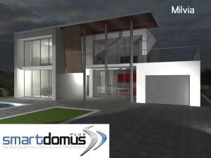 Smart Domus Plus, linea quadratum - modello Milvia