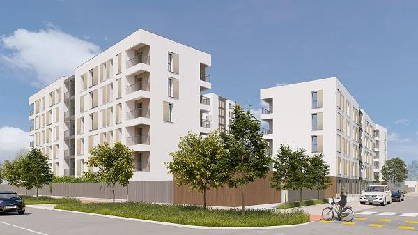 Social housing realizzata con il sistema PRIMATE