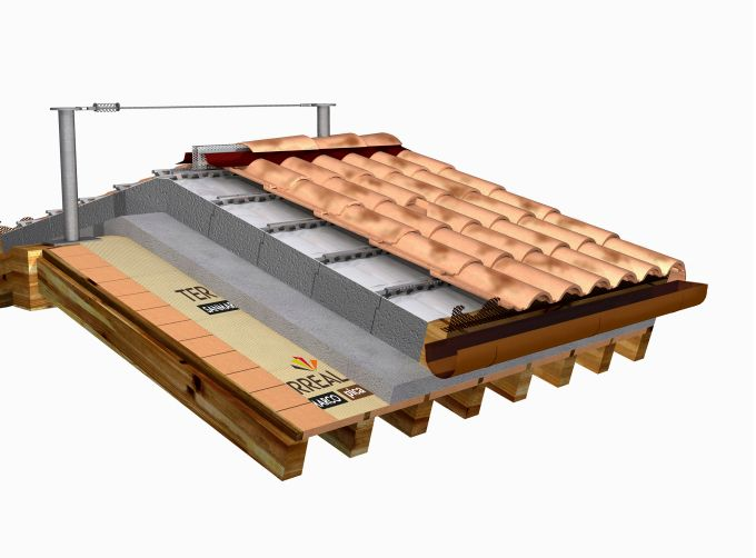 Terreal Italia, Soluzione compatta per il tetto che garantisce la microventilazione