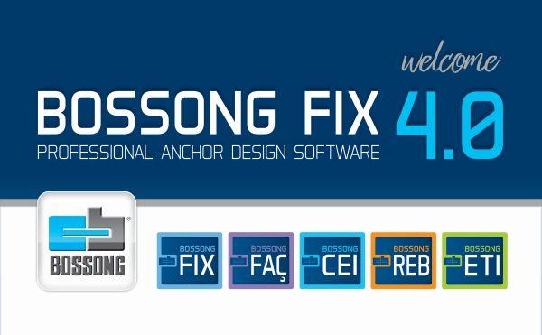 Nuovo software Fix 4.0 di Bossong per la progettazione e la verifica degli ancoranti
