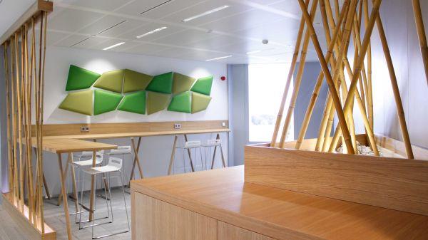 Progetto di bioarchitettura dello Studio Speri per l'headquarter di VIP CKH in Lussemburgo