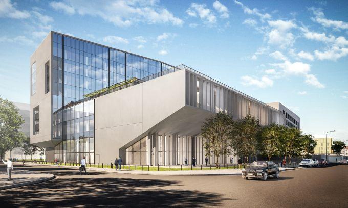 L'impianto planivolumetrico del Building D di Covivio a Milano