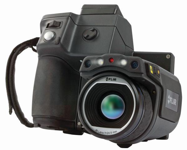 La termocamera FLIR T640