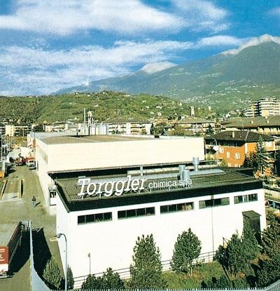 Il sito produttivo Torggler Chimica di Merano