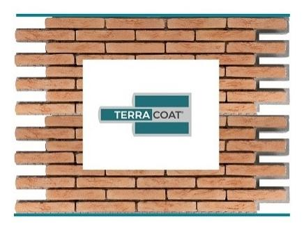 TERRACOAT©, nuovo cappotto prefabbricato con finitura in mattone faccia a vista di Terreal Italia