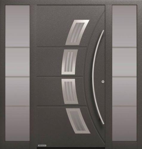 Portone di ingresso Hormann ThermoSafe nel Motivo 188