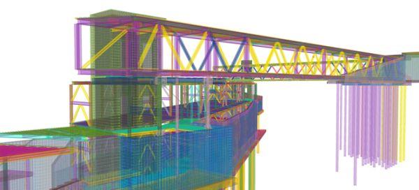 Software Tekla Structures per la progettazione in BIM