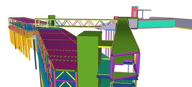 Il software Tekla Structures per la progettazione in BIM del Palazzo di Varignana Resort & Spa