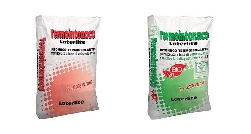 Termointonaci Laterlite a base cemento e calce idrulica