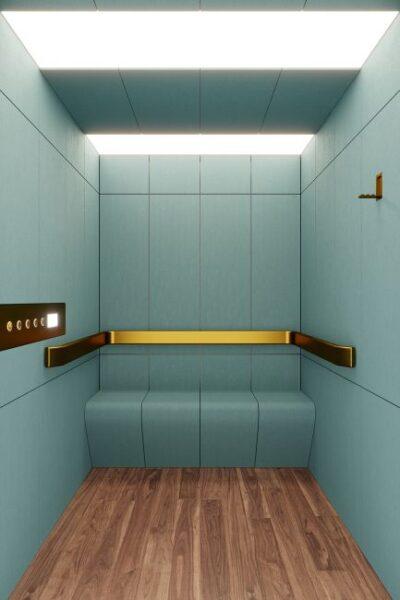 Ascensore The Box di Giulio Cappellini e Antonio Facco