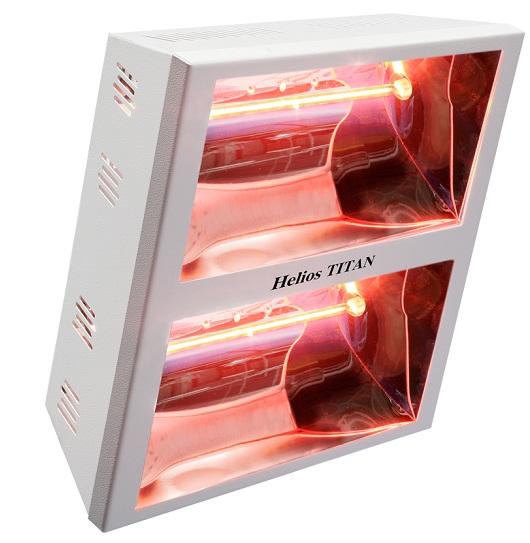 Riscaldatori a soffitto o a parete Helios Radiant IRK mod. Titan V2
