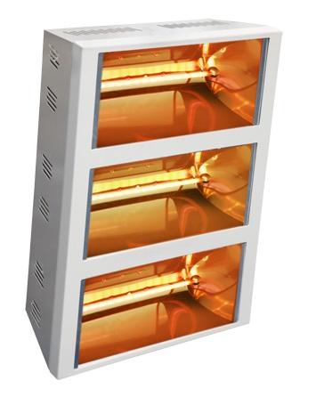 Riscaldatori Helios Radiant IRK mod. Titan V3 a parete o a  soffitto