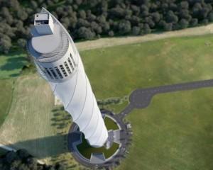 Torre Rottweil per testare le oscillazioni dei grattacieli