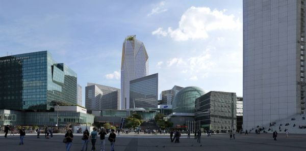 Acensori avveniristici di Thyssenkrupp Elevetor per la HEKLA TOWER di Parigi