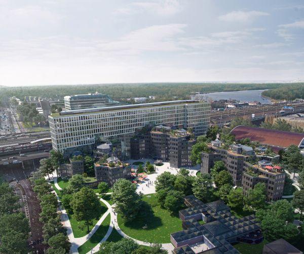 Tripolis Park: la nuova sede Uber ad Amsterdam con tetti verdi e isolamento acustico