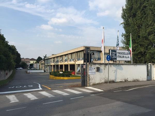 La sede aziendale di Caponago
