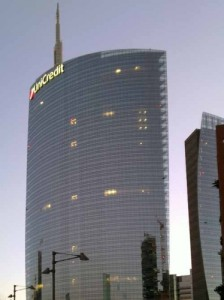 Unicredita Tower a Milano
