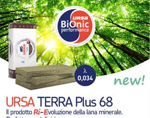 Scopri URSA TERRA Plus 68 e BiOnic – la Ri-Evoluzione della lana minerale