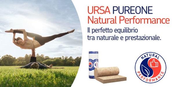 PUREONE Natural Performance è la nuova linea di lana minerale Ursa