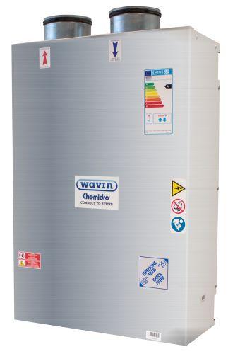 Soluzioni a incasso di Wavin Italia per la ventilazione meccanica controllata