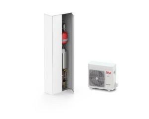 Sistemi ibridi integrati Unical per riscaldamento, raffrescamento e produzione acs